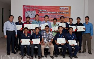 Certificate training alfamart photo 1